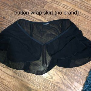 Black ballet skirt (missing brand)